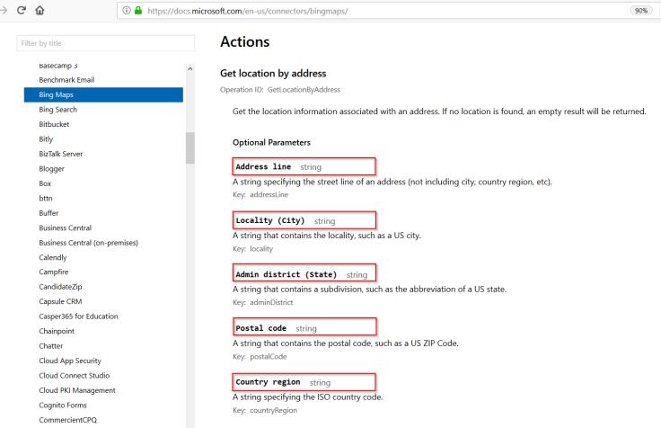 Geocode a Custom Entity with Microsoft Flow - Microsoft